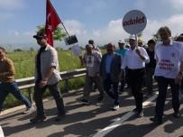MUSTAFA YıLMAZ - Adalet Yürüyüşü'ne Köşe Yazarlarından Destek