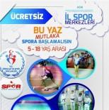 BADMINTON - Ağrı'da Yaz Spor Okulları Kayıtları Devam Ediyor