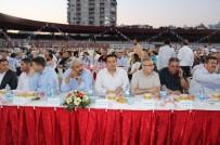 AK Parti Mezitli'den Vefa İftarına Yoğun Katılım