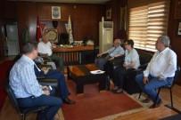KADİR ALBAYRAK - Albayrak, Başkan İbrahim Uyan'ı Ziyaret Etti