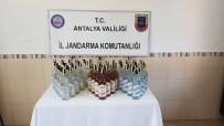 KAÇAK - Antalya'da Kaçak İçki Operasyonu