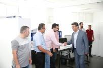 KARADENIZ - Başkan Karadeniz, Personeliyle Bayramlaştı