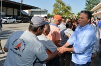 DENİZ FENERİ - Başkan Uysal, Personeliyle Bayramlaştı