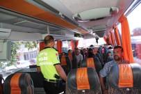 ŞEHİR İÇİ - Bayram Öncesi Otobüslere Denetim