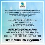 TOPLU TAŞIMA - Bayramda Mezarlıklara Toplu Taşıma Ücretsiz