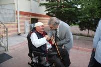 TEKERLEKLİ SANDALYE - Büyükşehir Yaşlıların Yanında