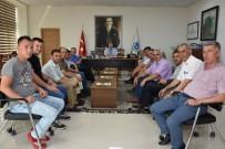 SENDİKA BAŞKANI - DİSK/GENEL-İŞ Sendikası Trakya Şube Başkanı Şen Albayrak'ı Ziyaret Etti