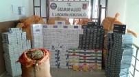 KAÇAKÇILIK - Erzurum'da 10 Bin Paket Kaçak Sigara İle Bin 500 Kg Nargile Tütünü Ele Geçirildi