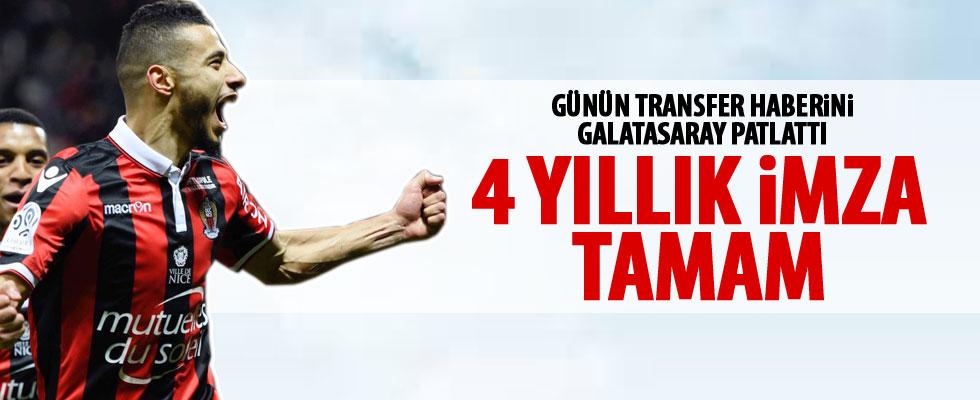 Galatasaray'da Belhanda tamam