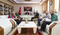 SELÇUK COŞKUN - Gazeteciler Cemiyetinden Rektör Coşkun'a Ziyaret