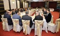 AÇIK ARTIRMA - Gümrük Ve Ticaret Bakanı Tüfenkci, Ankara'da Basın Mensuplarıyla İftar Yaptı