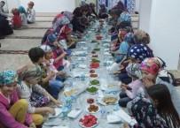 Hisarcık'ta Yaz Kur'an Kursu Öğrencilerine İftar Yemeği