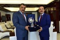 YUNUS NADI - HSK Teftiş Kurulu Başkanı Kolukısa'dan Gürkan'a Ziyaret