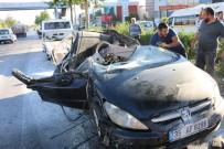 DİREKSİYON - İzmir'de Trafik Kazası Açıklaması 1 Ağır Yaralı