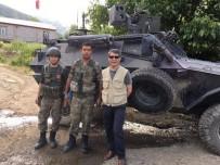 ODABAŞı - Kaymakam Özkan'dan Operasyon Bölgesindeki Askerlere Ziyaret