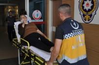 ALANYURT - Kaza Sonrası Polise Saldıran Şahıs Tutuklandı