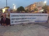 GRUP BAŞKANVEKİLİ - Kepez'den Turan'a Pankartlı Destek