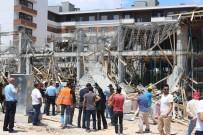 SÜLEYMAN ŞAH - Konya'da İnşaatta Beton Dökümü Sırasında Göçük Açıklaması 2 Yaralı