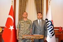 Korgeneral Temel Ve Tuğgeneral Sayat'dan Vali Toprak'a Veda Ziyareti