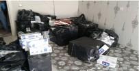 Mersin'de 14 Bin 568 Paket Kaçak Sigara Ele Geçirildi