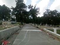 YOL ÇALIŞMASI - Mezarlıklara Beton Yol