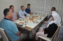 ÖZEL HAREKET - Milas Kaymakamı Arslan Şehit Ailesinin İftarına Katıldı
