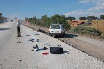 KARADENIZ - Motosiklet İle Otomobil Çarpıştı; 1 Yaralı