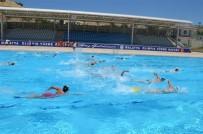 YÜZME - Olimpik Açık Havuz Bayram'da Açık