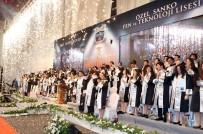 BİR AYRILIK - Özel SANKO Liseleri Mezunlarının Diploma Mutluluğu