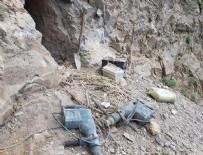 GÜVENLİK GÜÇLERİ - PKK'ya ait 4 odalı mağara bulundu