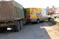 Samsun'da Zincirleme Kaza Açıklaması 3 Yaralı