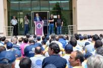 TAŞERON İŞÇİ - Seyhan'da Taşeron İşçiye Bayram İkramiyesi