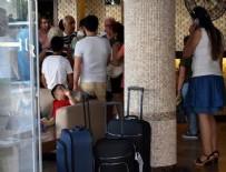 TURİZM SEZONU - Tatilleri burunlarından geldi: 50 aile kapıda kaldı