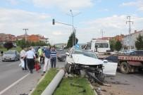 EBRAR - Tavşanlı'da Trafik Kazası Açıklaması 6 Yaralı