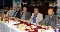 TÜRKIYE YAZARLAR BIRLIĞI - TYB Erzurum Şubesi İftarda Buluştu
