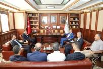 İÇIŞLERI BAKANLıĞı - Vali Çataklı'dan Başkan Kara'ya Veda Ziyareti