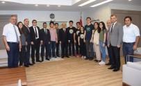 MİLLİ EĞİTİM MÜDÜRÜ - YGS'de İlk 100'E Giren Öğrenciler, Başarılarını Vali Demirtaş İle Paylaştı