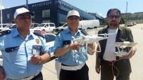 TRAFİK POLİSİ - Yollardaki Bayram Trafiğine Drone'lu Denetim