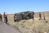 ÖZEL HAREKAT POLİSLERİ - Zırhlı araç takla attı