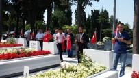 EDIRNEKAPı - 15 Temmuz Gazileri, 15 Temmuz Şehitlerinin Kabirlerini Ziyaret Etti