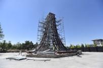 AY YıLDıZ - 15 Temmuz Şehitler Anıtı'nın Yapım Çalışmaları Sürüyor