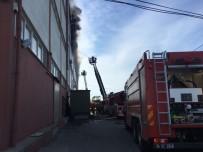 MOBİLYA - Arnavutköy'de Mobilya Atölyesinde Yangın