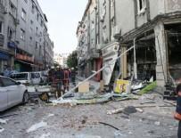 DOĞALGAZ - Bakırköy'de bir iş yerinde patlama