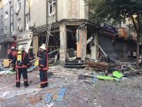 SAĞLIK EKİBİ - Bakırköy'de Tüpgaz Patlaması. Bir İşyeri Harabeye Döndü