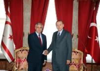MEVLÜT ÇAVUŞOĞLU - Cumhurbaşkanı Erdoğan, KKTC Cumhurbaşkanı Mustafa Akıncı İle Görüştü