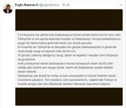 ERGİN ATAMAN - Ergin Ataman Açıklaması 'Unutmayalım Ki Büyük Hedefler Büyük Vizyonlarla Yakalanır'