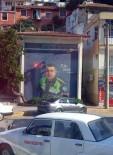KAHRAMAN POLİS - Finike'de Trafoya Kahraman Polis Sekin Resmedildi
