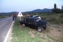 Hisarcık'ta Trafik Kazası Açıklaması 3 Yaralı
