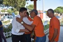 TAŞERON İŞÇİ - İzmir'deki Belediye Başkanları Personelleriyle Bayramlaştı