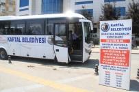 ÜCRETSİZ ULAŞIM - Kartal Belediyesinden Bayramda Ücretsiz Mezarlık Ulaşımı